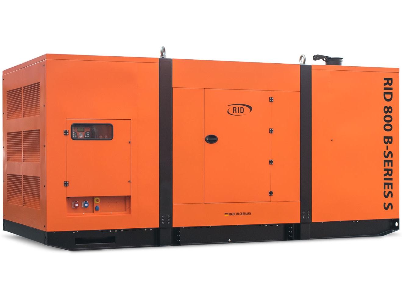 дизельная электростанция rid 800 b-series s