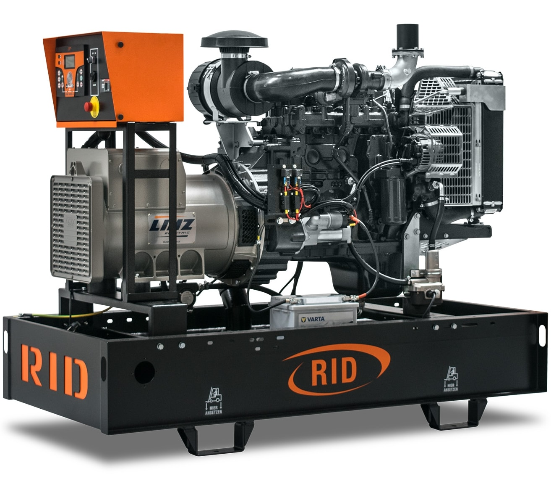 дизельная электростанция rid 80 c-series