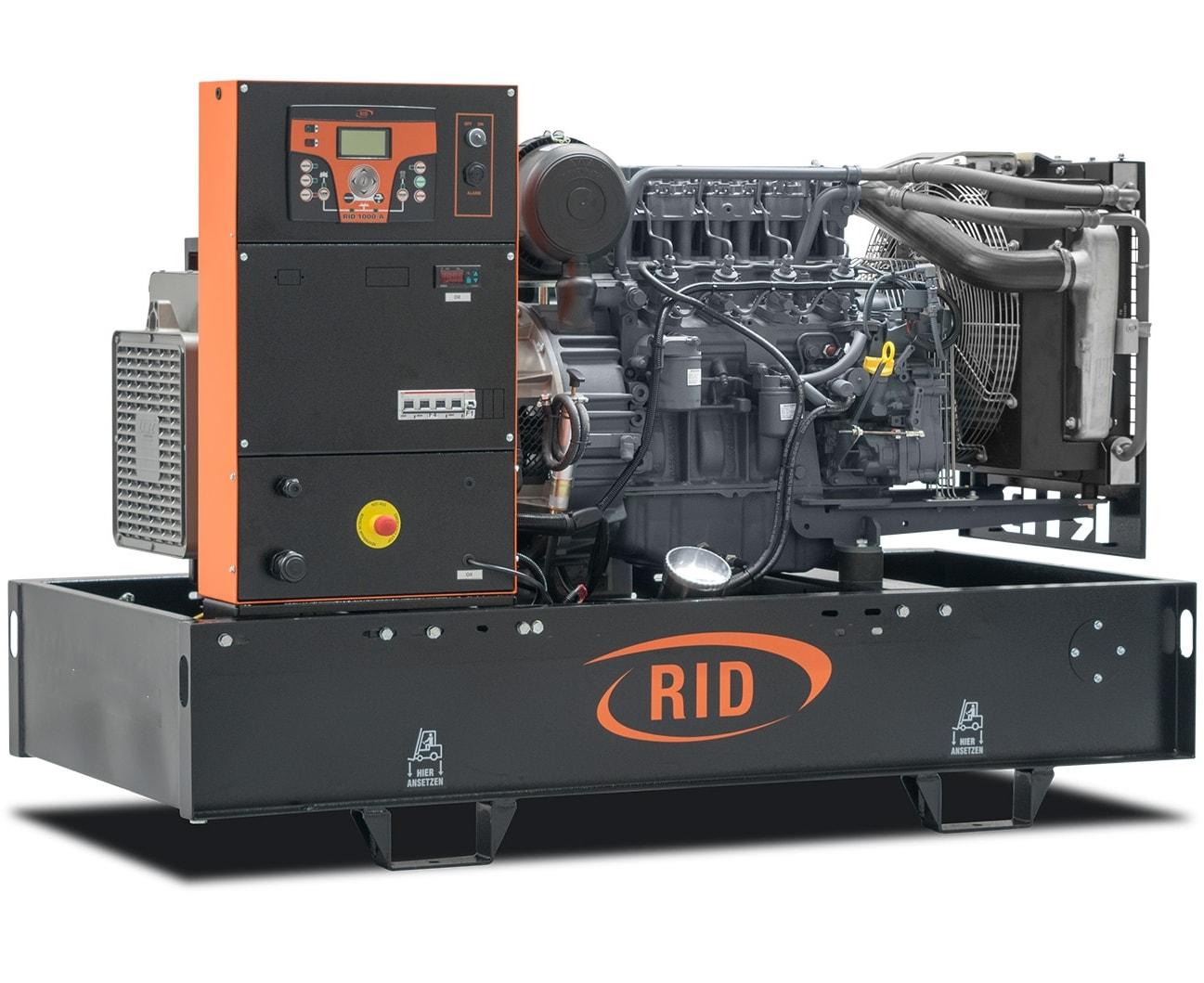 дизельная электростанция rid 80 s-series
