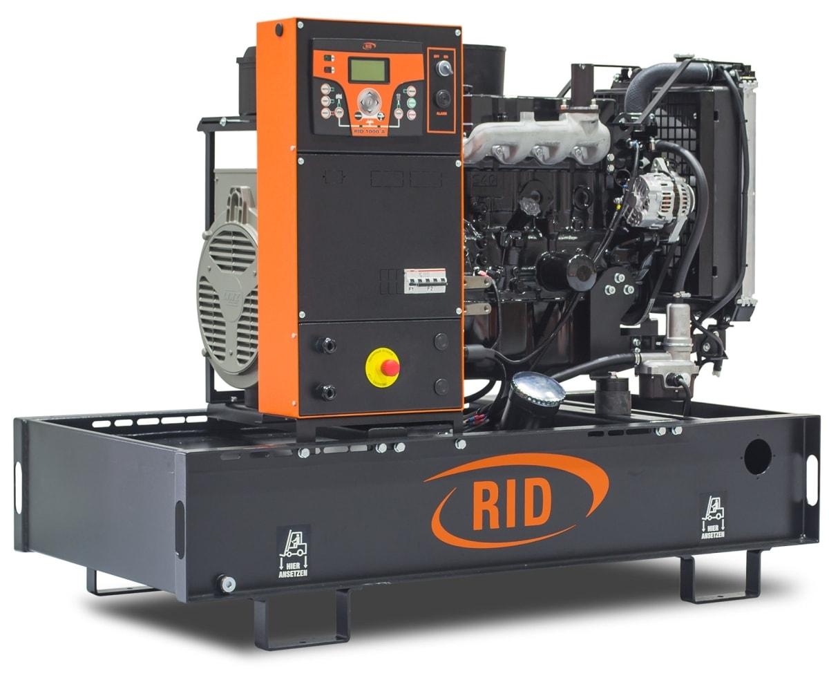 дизельная электростанция rid 8 e-series