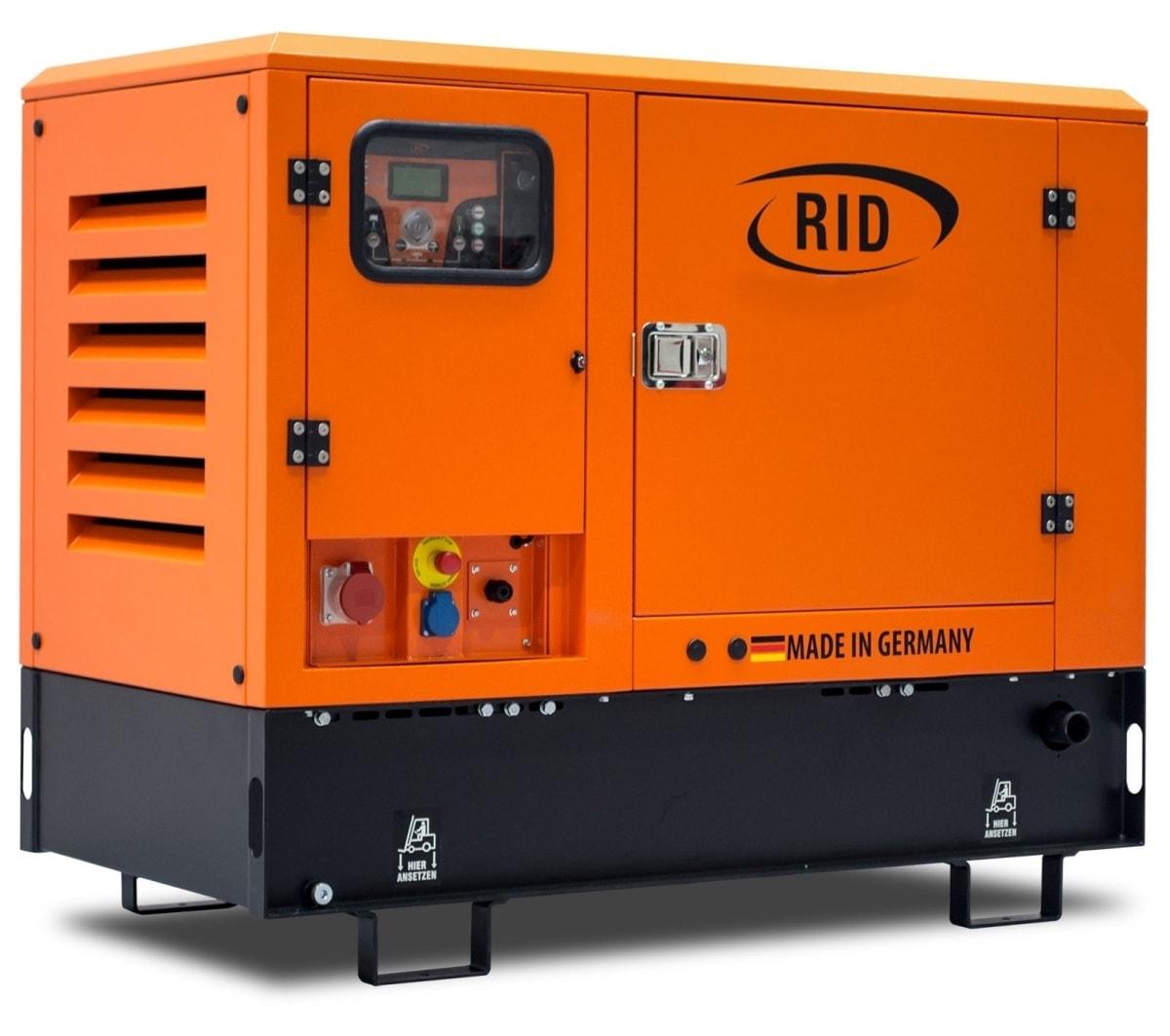 дизельная электростанция rid 8 e-series s