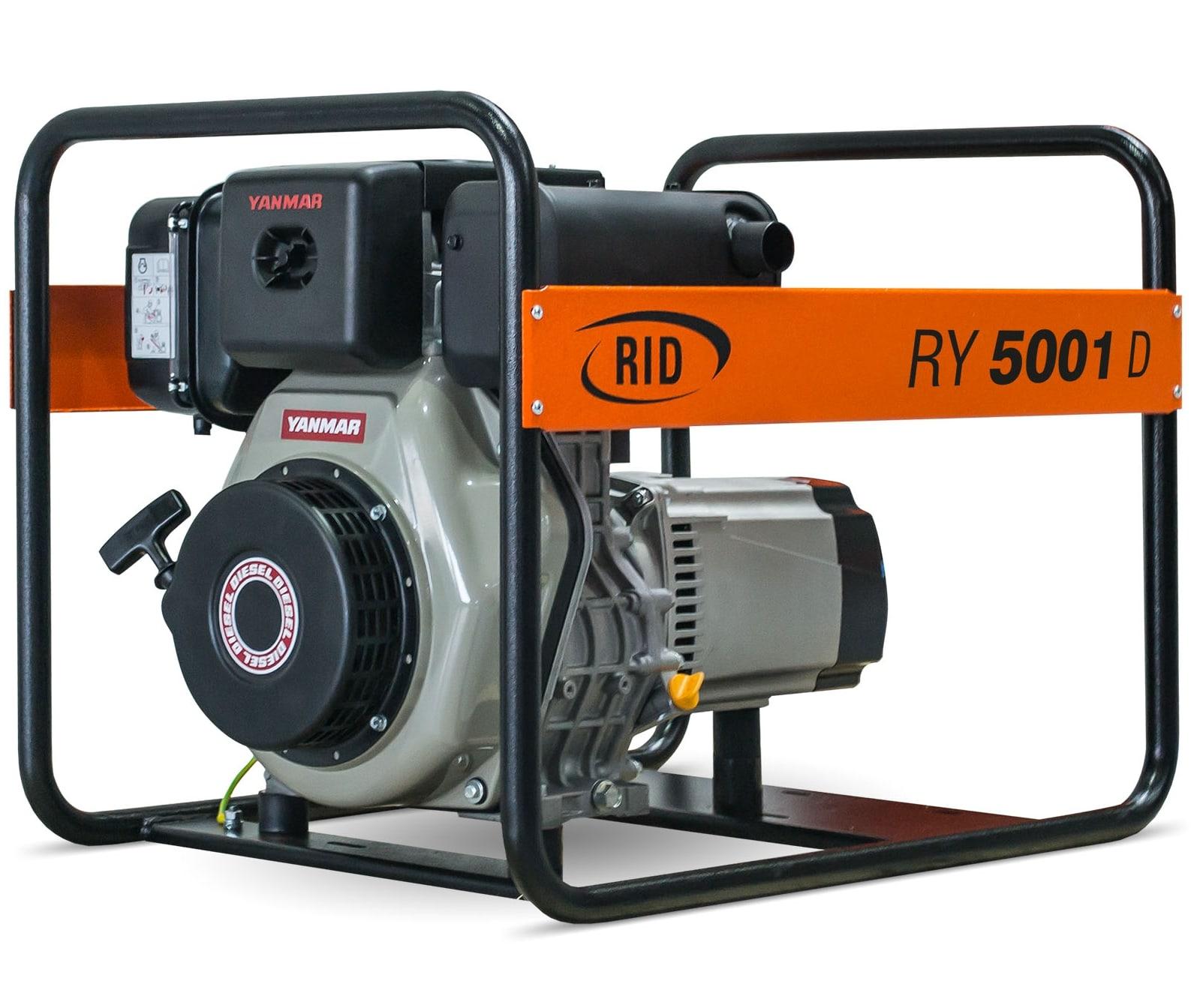 дизельная электростанция rid ry 5001 d