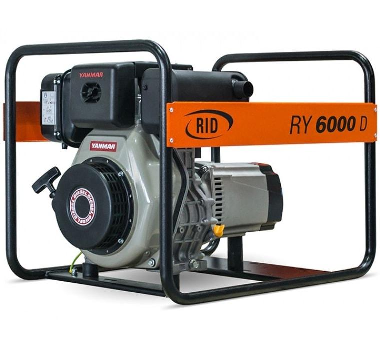дизельная электростанция rid ry 6000 d