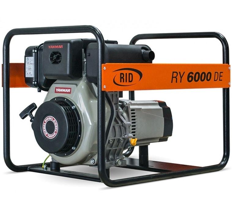 дизельная электростанция rid ry 6000 de