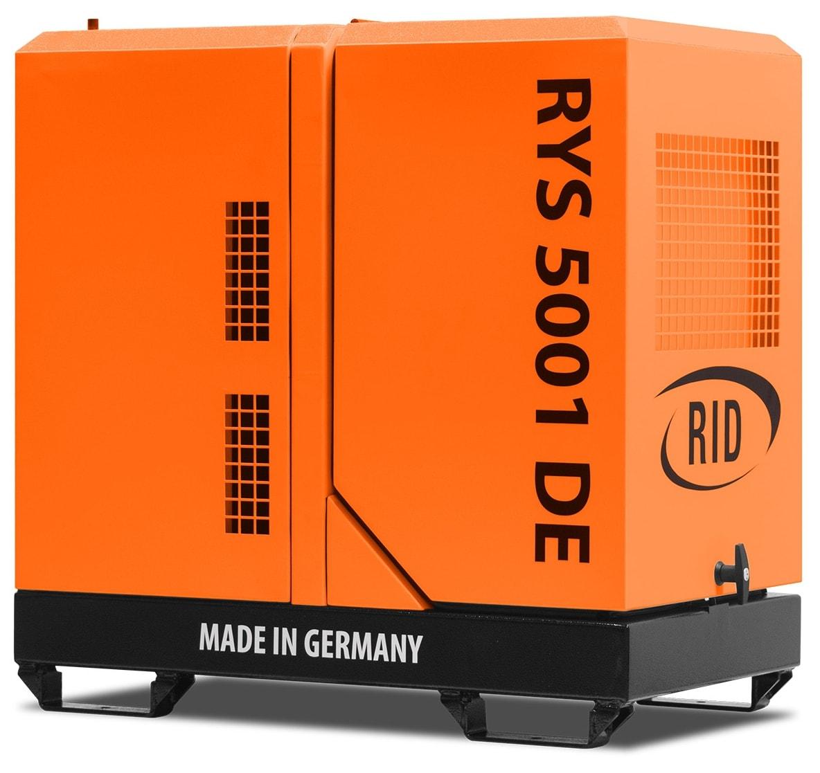 дизельная электростанция rid rys 5001 d