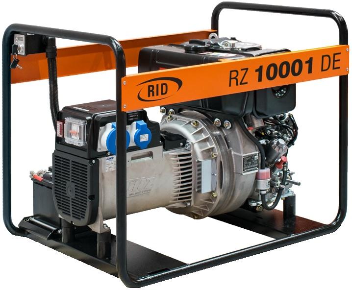 дизельная электростанция rid rz 10000 de