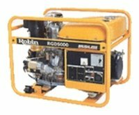 дизельная электростанция robin‑subaru rgd5000