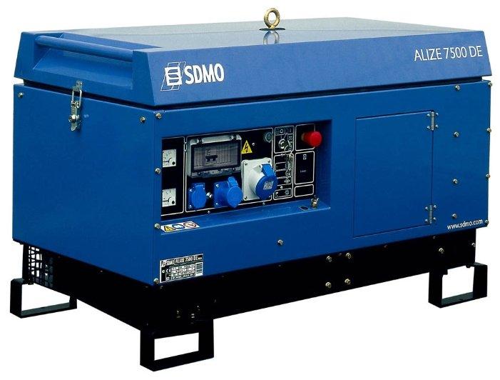 дизельная электростанция sdmo alize 7500 de