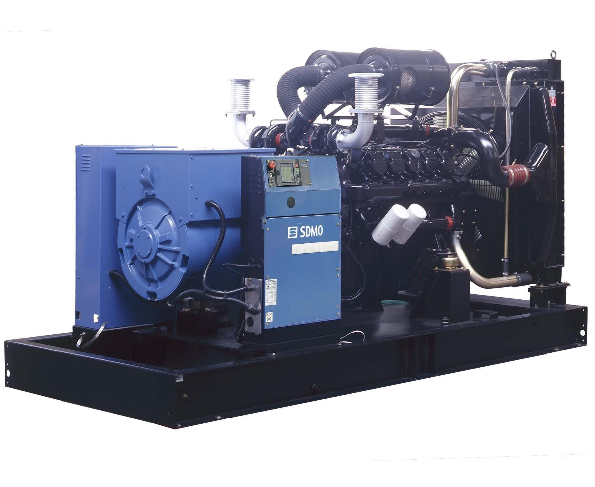 дизельная электростанция sdmo d550
