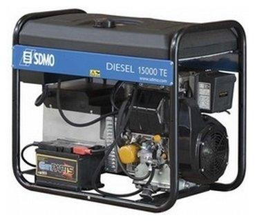 дизельная электростанция sdmo diesel 15000 te