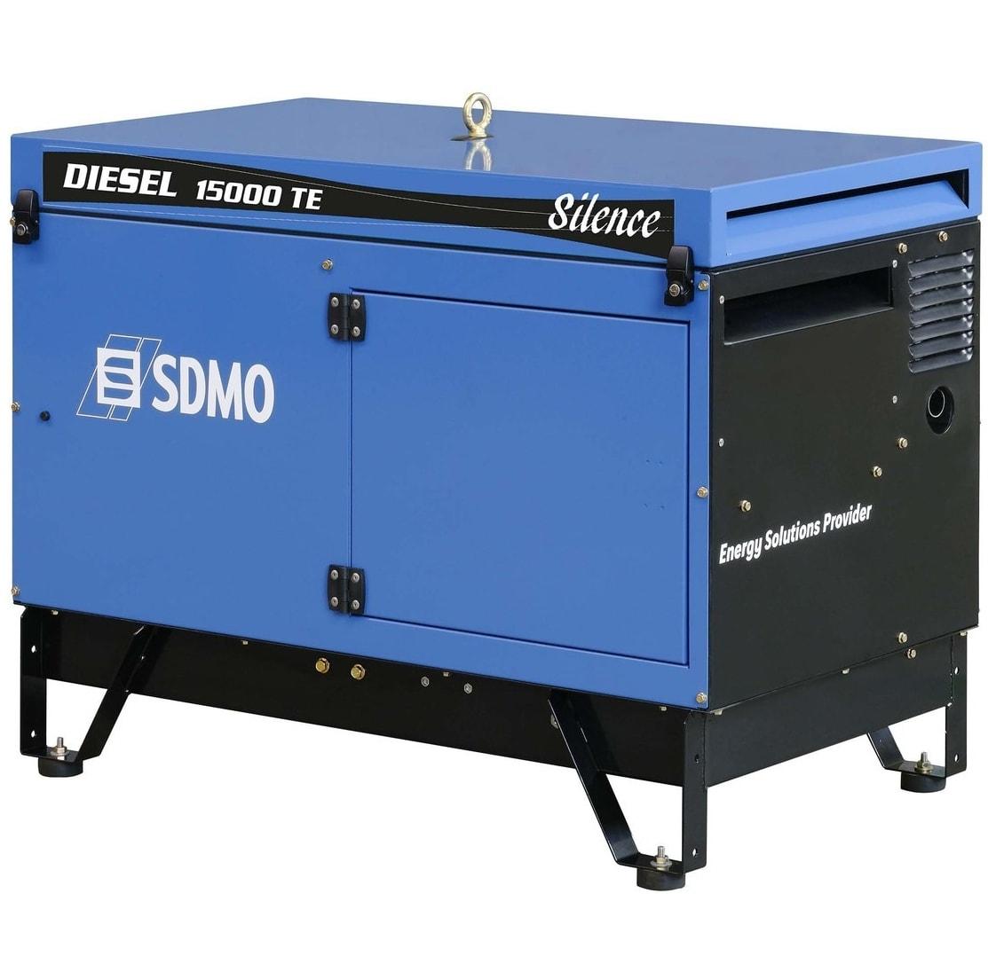 дизельная электростанция sdmo diesel 15000 te silence