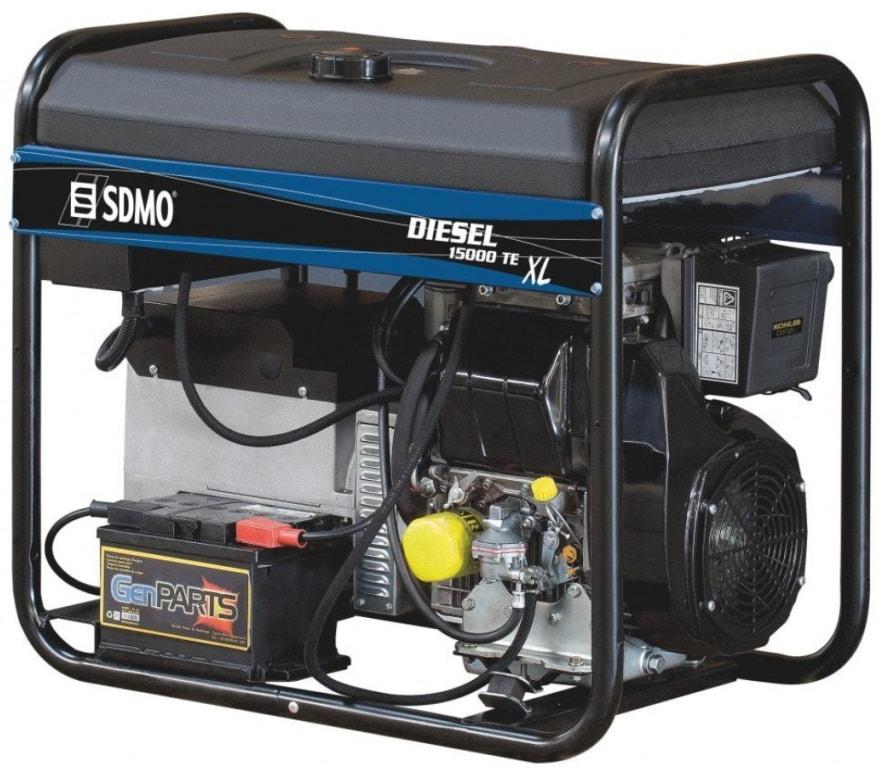 дизельная электростанция sdmo diesel 15000 te xl c
