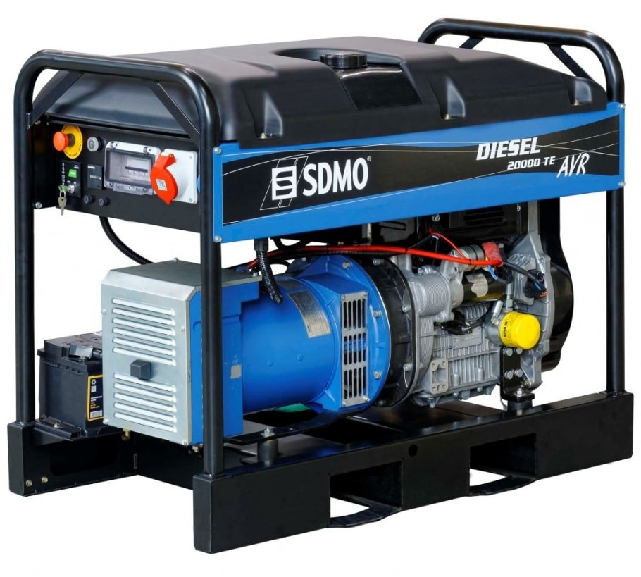 дизельная электростанция sdmo diesel 20000 te xl c