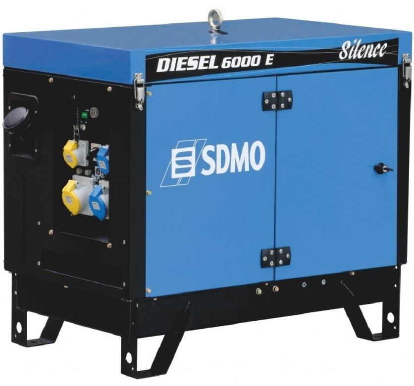 дизельная электростанция sdmo diesel 6000 e silence