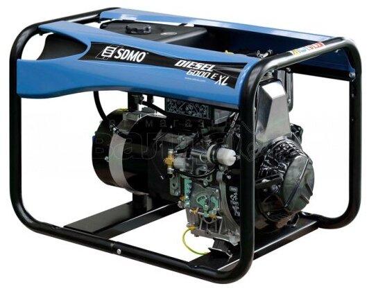 дизельная электростанция sdmo diesel 6000 e xl