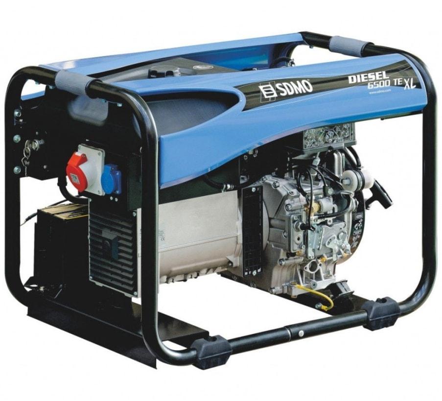 дизельная электростанция sdmo diesel 6500 te xl c