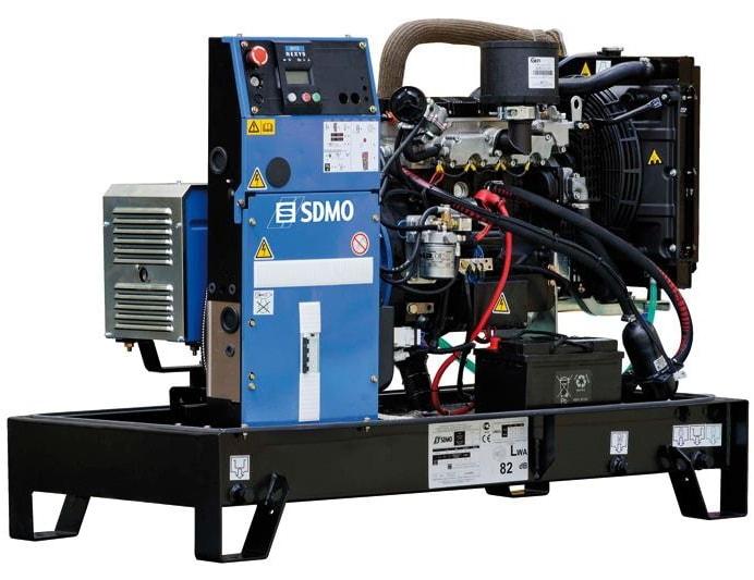 дизельная электростанция sdmo k 10m