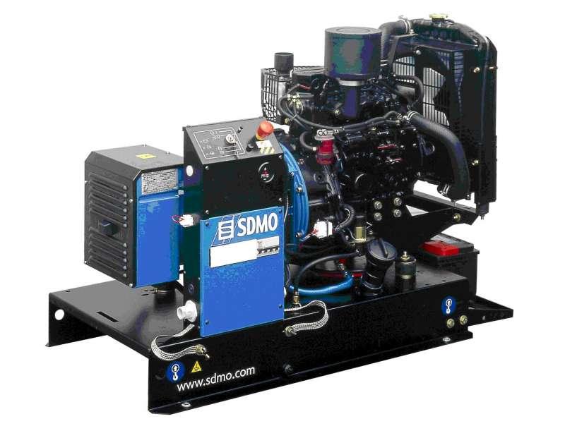 дизельная электростанция sdmo t11.5