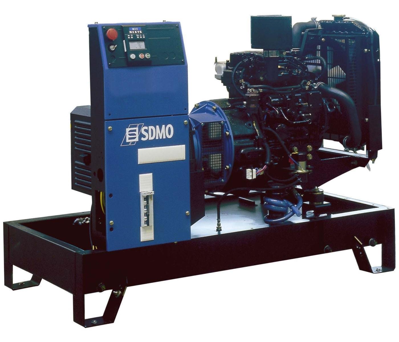 дизельная электростанция sdmo t 12k