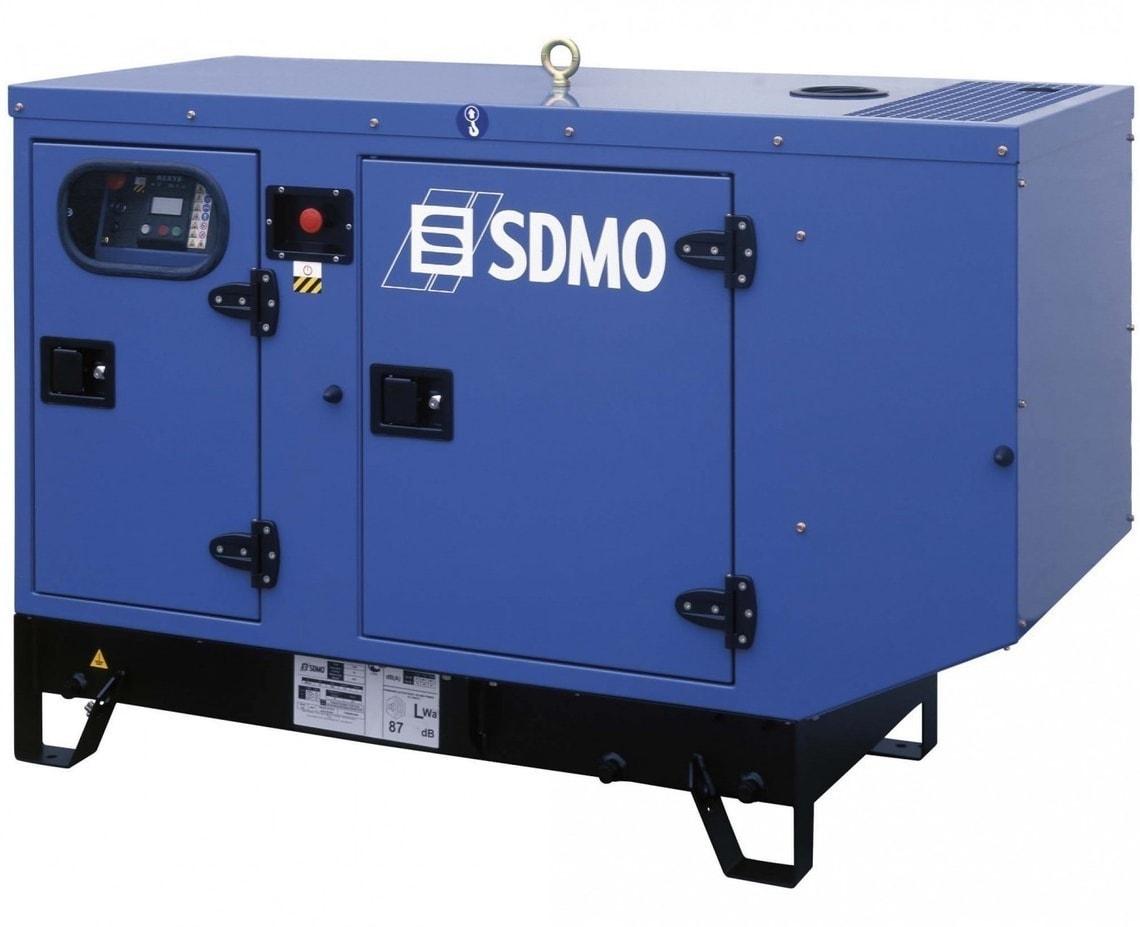 дизельная электростанция sdmo t 12km