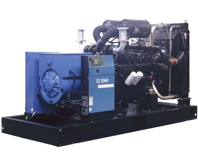 дизельная электростанция sdmo v550c2