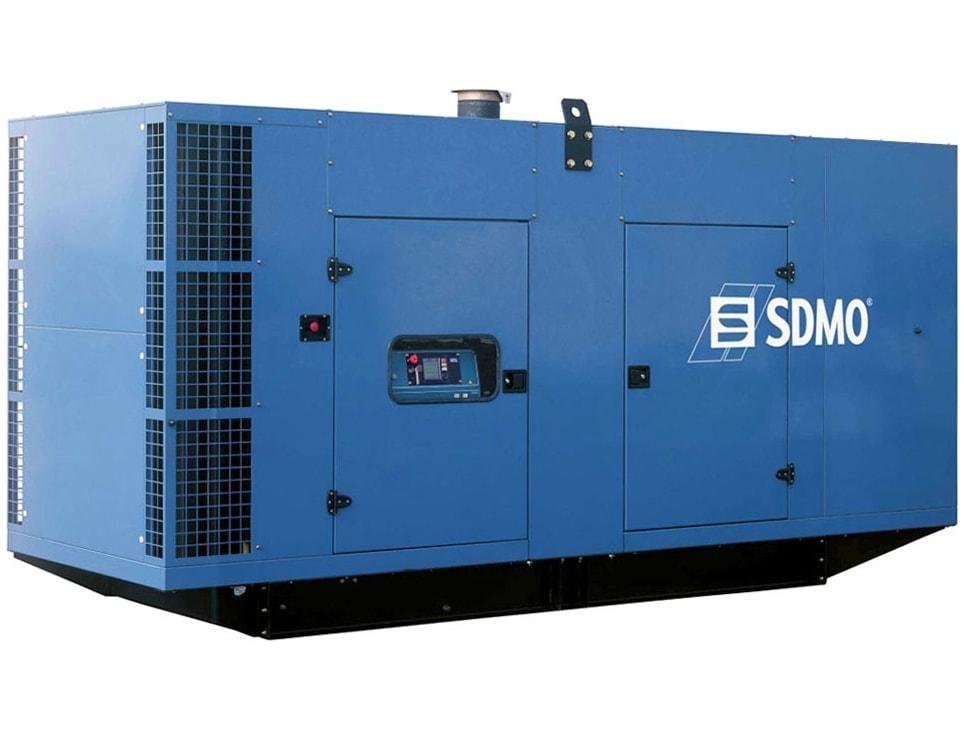 дизельная электростанция sdmo v650c2