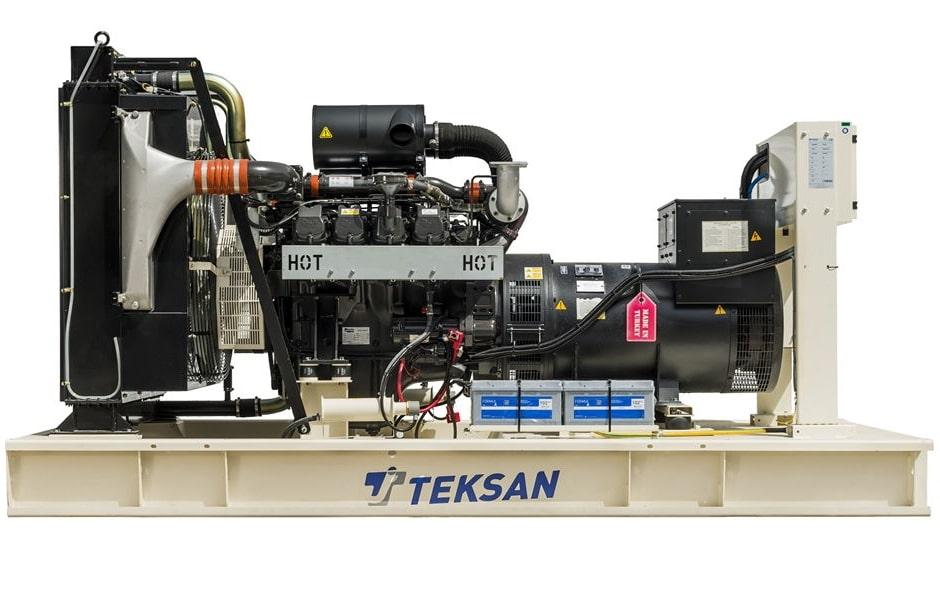 дизельная электростанция teksan tj440dw5c