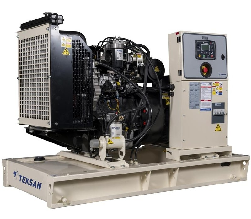 дизельная электростанция teksan tj67pe5a