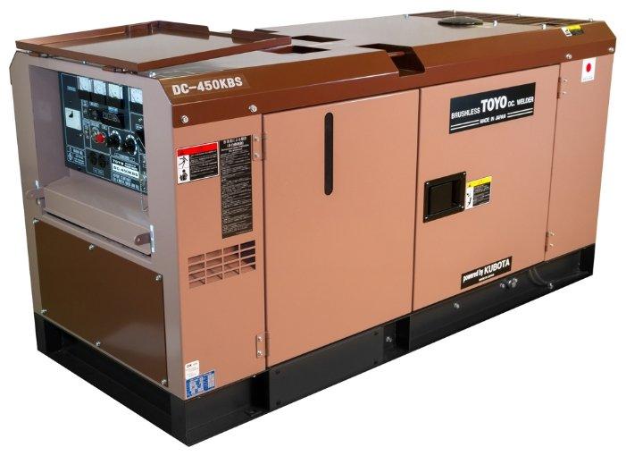 дизельная электростанция toyo dc-450kbs