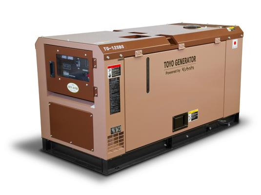 дизельная электростанция toyo tg-12sbs