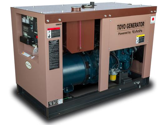 дизельная электростанция toyo tg-12spc
