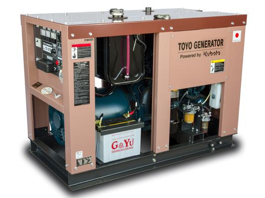 дизельная электростанция toyo tg-19tpc