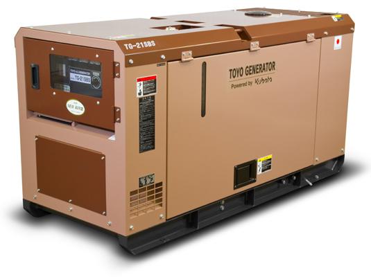 дизельная электростанция toyo tg-21sbs