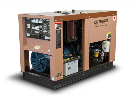 дизельная электростанция toyo tg-21spc