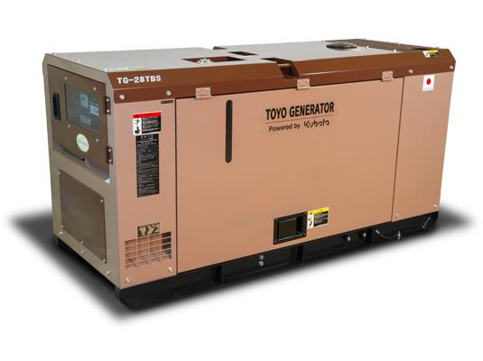 дизельная электростанция toyo tg-28tbs