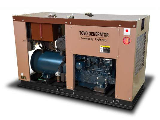 дизельная электростанция toyo tg-30spc