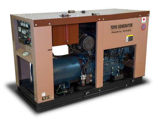 дизельная электростанция toyo tg-40tpc