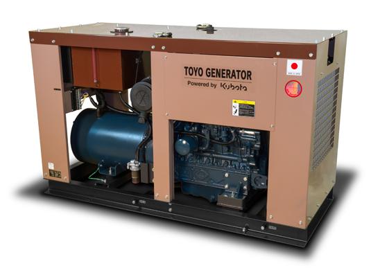 дизельная электростанция toyo tg-47tpc