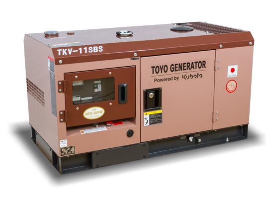 дизельная электростанция toyo tkv-11sbs