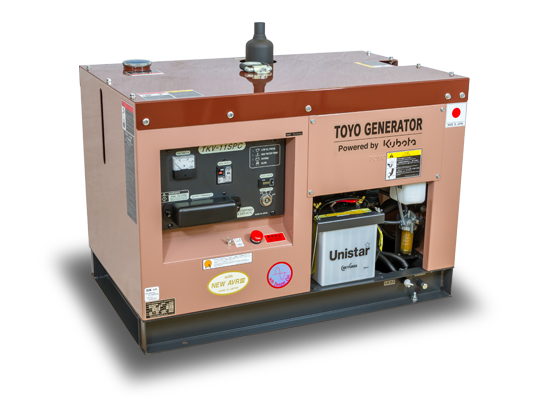 дизельная электростанция toyo tkv-11spc