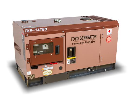 дизельная электростанция toyo tkv-14tbs