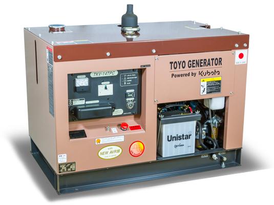 дизельная электростанция toyo tkv-14tpc