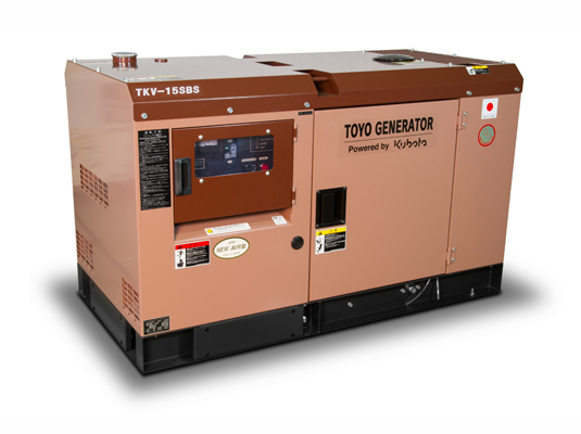 дизельная электростанция toyo tkv-15sbs