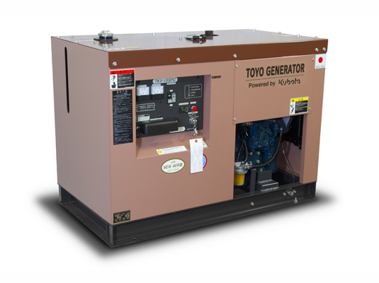 дизельная электростанция toyo tkv-15spc