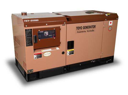 дизельная электростанция toyo tkv-20sbs