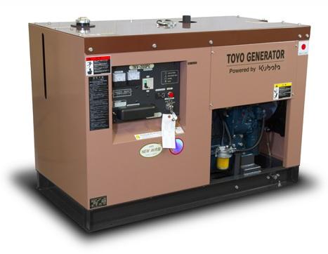дизельная электростанция toyo tkv-20spc