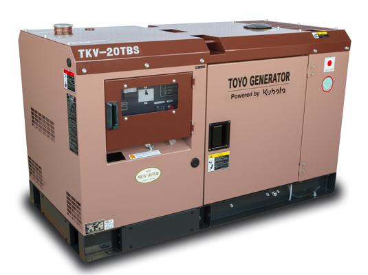 дизельная электростанция toyo tkv-20tbs