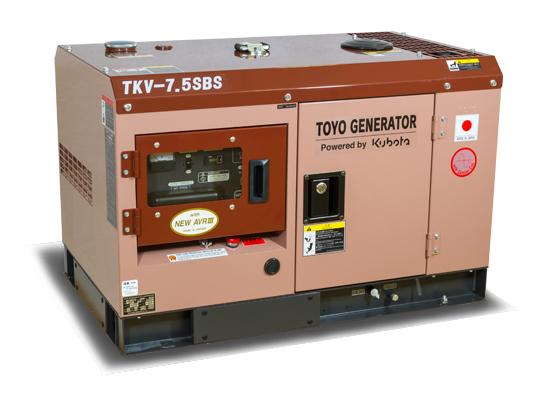 дизельная электростанция toyo tkv-7.5sbs
