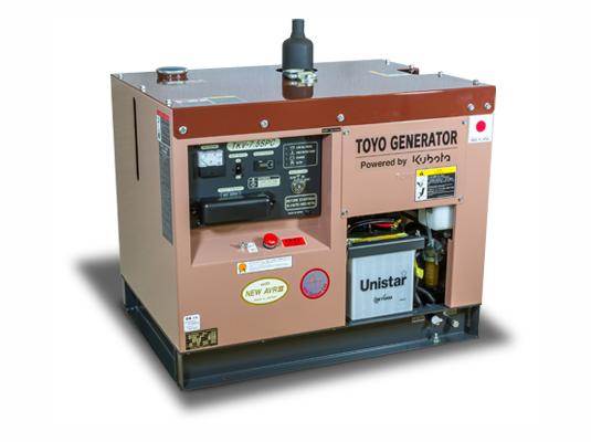 дизельная электростанция toyo tkv-7.5spc