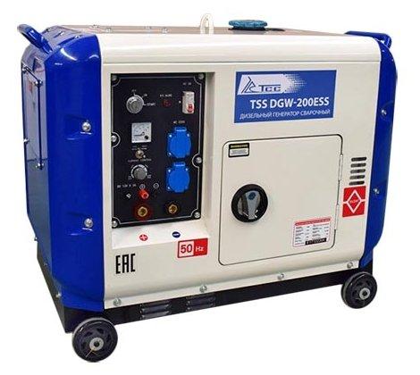 дизельная электростанция tss dgw-200ess